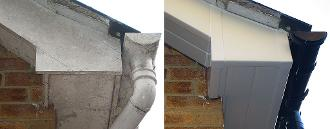 Before And After Fascia Replacment Price Farnborough