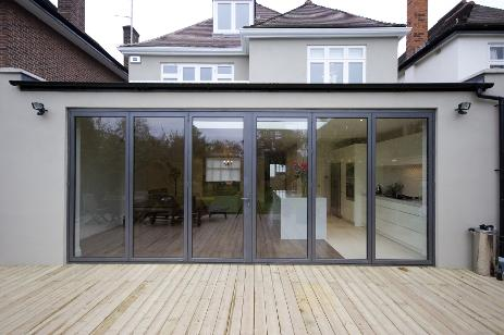 orangery extension with bifolds