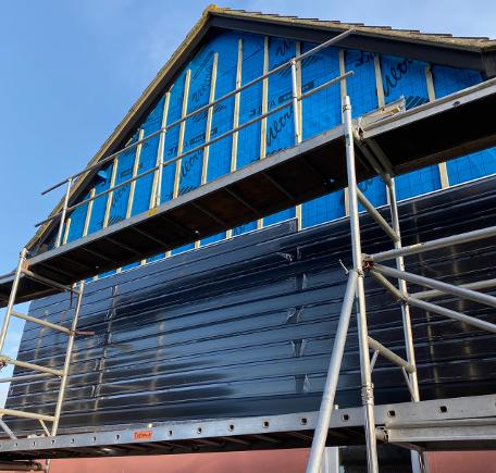 black ash cladding, replacement cladding